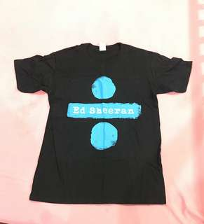 Ed Sheeran concert T-shirt - original