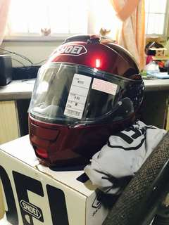 Shoei Neotec (M) Wine Red