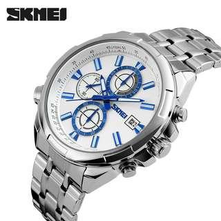 Jam tangan pria skmei 9107 oeiginal + box