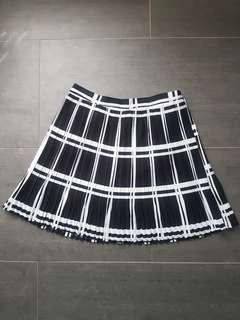 Plaid mini skirt from Honey