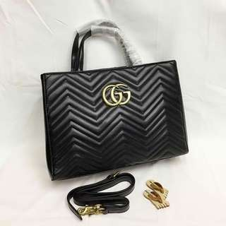 Gucci Marmont Top Handle with Sling