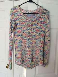 Garage Rainbow Sweater