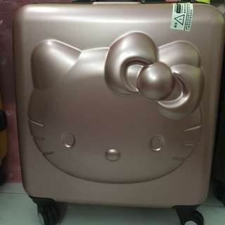 Rose Gold Hello Kitty Cabin luggage