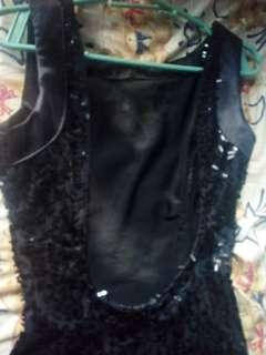Pre loved backless dress