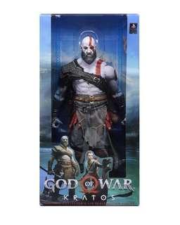 God of War 1/4 Kratos Figure from NECA Preorder
