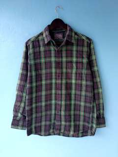 Flannel uniqlo green