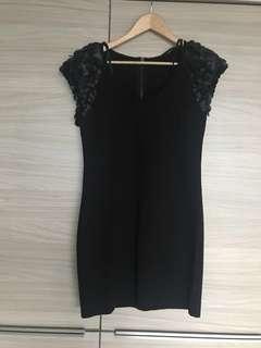 Stella Black mini dress