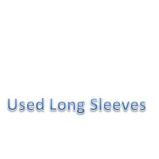 Cotton long sleevs