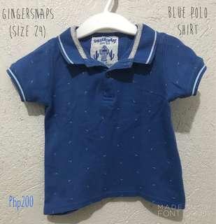 Gingersnaps Polo Shirt (blue)