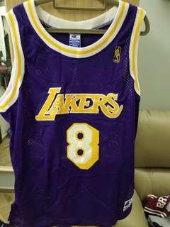 95% new Champion Kobe Bryant authentic jersey size 44
