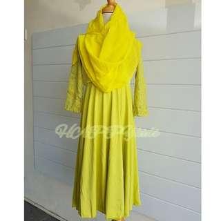 Jubah Dress Budak