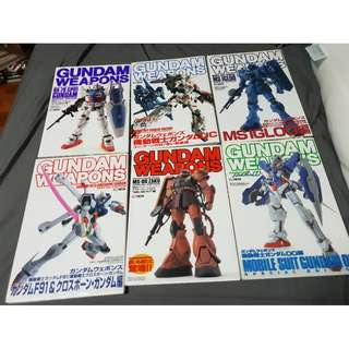 Gundam Weapon Books (each)