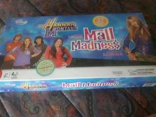 Hannah Montana Mall Madness board game