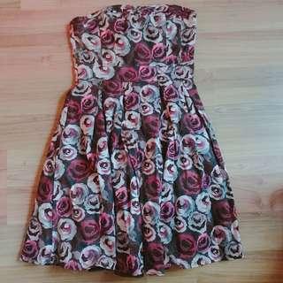 H&M Floral tube Dress