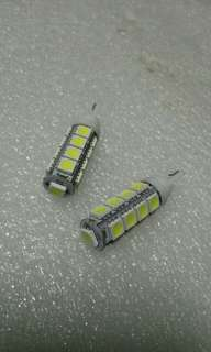 Ultra Bright T10 Car LEDs. 17LEDs SMD Type 5050 Extremely Bright. Small yet Powerful Light! Sold in Pair (2pcs LED)