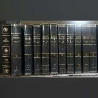 Ensiklopedia / Encyclopedia Americana 1980 Vol 1-30 Original