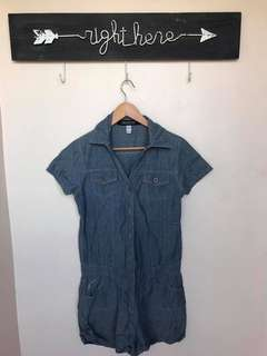 FREEGO DENIM JUMPSUIT