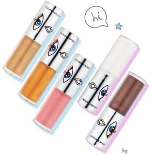 *60% OFF CLEARANCE* EtudeHouse Bling Me Prism Eyes Liquid Eyeshadow / Étude House Bling Me Prism Darling Heart, Pearlfect, Bling Bold