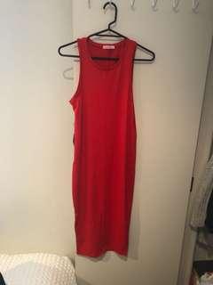 Midi dress small new