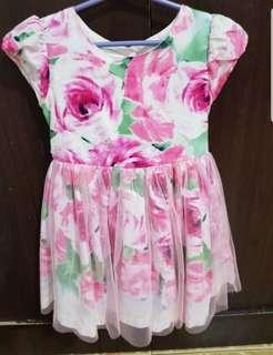 Little Miss Floral Dress