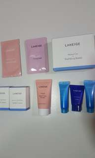 Laneige Sample Trial Kit -Brand New-