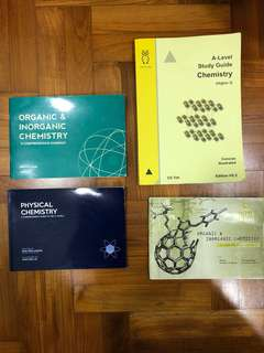 A Level Chemistry Guidebooks