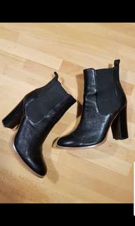 Wittner Leather Ankle Boots
