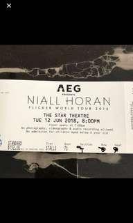 Niall Horan Singapore Flicker Tour 201&