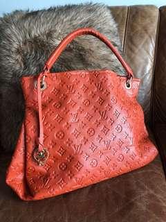 Louis Vuitton Artsy Orange Monogram Bag