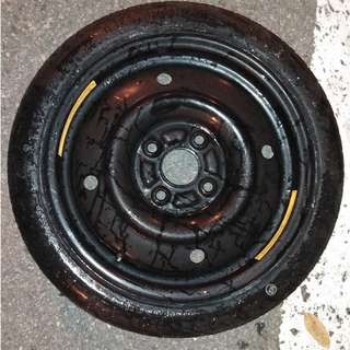 Spare tyre for myvi