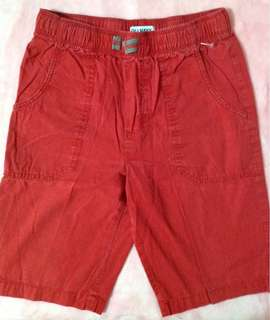 Old navy cargo shorts red
