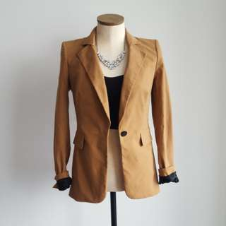 Juicy Couture Camel Blazer