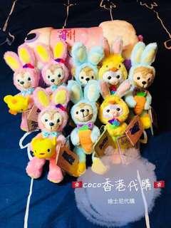 香港迪士尼 復活節 現貨 達菲 雪莉玫 史黛拉 鑰匙圈