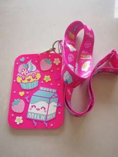 Smiggle lanyard hot pink rm29 NEW