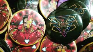 Marvel Button Badges
