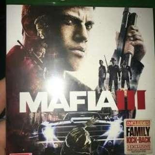Mafia 3 xbox one games for sale or trade