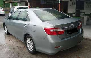 Toyota camry 2.0 continue Loan
