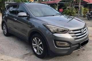 KERETA SAMBUNG BAYAR HYUNDAI SANTA'FE 4WD