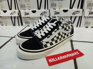VANS OS 36 DX ANAHEIM FACTORY CHECKERBOARD