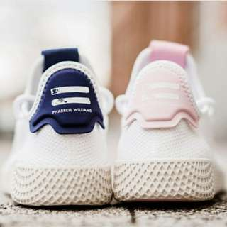"ADIDAS ORIGINALS PW TENNIS HU ""WHITE NAVY"" / ""WHITE PINK"""