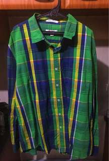 Polo Long Sleeves (Checkered)