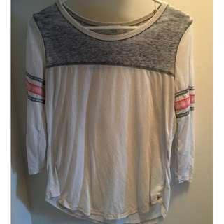 Baseball shirt size: medium
