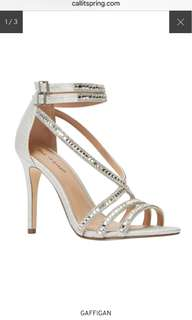 BRAND NEW Call it spring Prom Shoes Sandals Silver