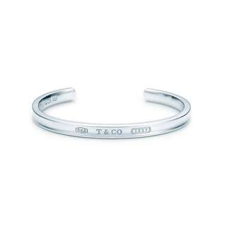 Tiffany 1837 narrow cuff in sterling silver
