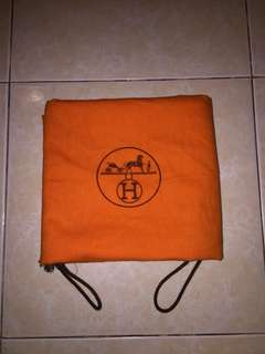 Authentic Hermes dustbag