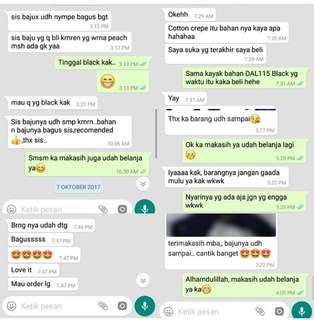 Testimoni whatsapp