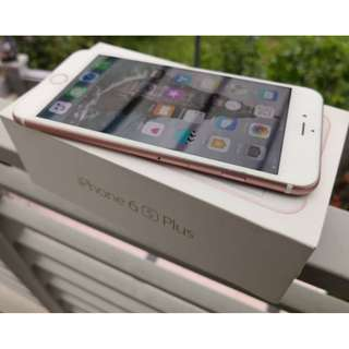 Apple iPhone 6S Plus 32GB Rose Gold MY Set - accept trade in