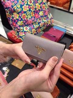 Prada key wallet