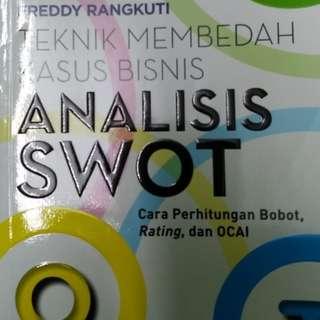 Buku Analisis SWOT by Freddy Rangkuti Edisi ASLI