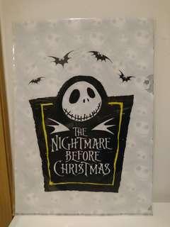 迪士尼 怪誕城之夜 Jack Skellington A4 文件夾  Disney The Nightmare before Christmas